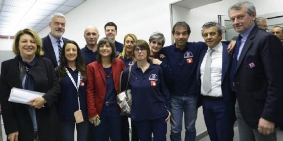 La presidente Serracchiani alla presentazione del Numero unico di emergenza (© Regione Friuli Venezia Giulia)