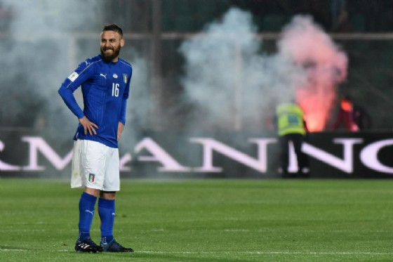Daniele De Rossi, centrocampista della Roma e della Nazionale (© Ansa)