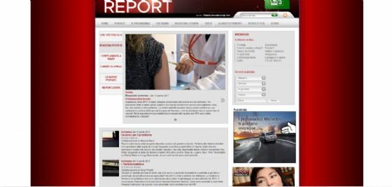 Bufera su Report (e Grillo) dopo l'inchiesta sul vaccino contro il Papilloma Virus (© Immagini Rai)