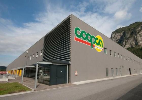 L'ex magazzino Coopta di Amaro (© Diario di Udine)