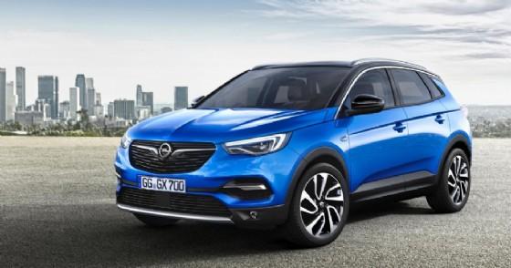 La Opel Grandland X (© Opel)
