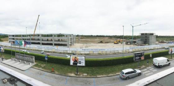 L'area cantiere del nuovo Polo intermodale