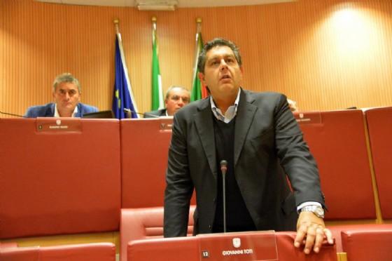 Il governatore della Liguria, Giovanni Toti