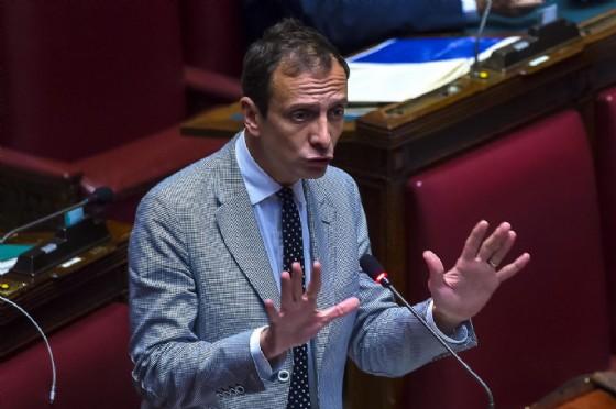 Massimiliano Fedriga, capogruppo alla Camera del Carroccio (© ANSA/ANGELO CARCONI)