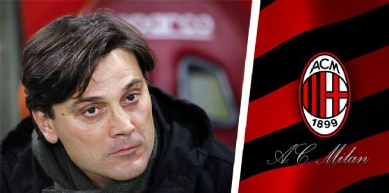 Il tecnico del Milan Montella (© Ansa)