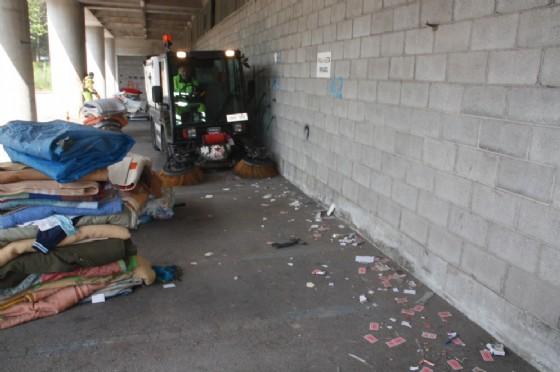 Sgombero del Bronx grazie all'impegno del Comune di Pordenone (© Comune di Pordenone)