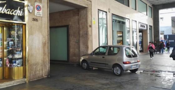 Le immagini dell'incidente in via Roma (© Diario di Torino)