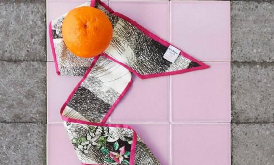 La collezione di Ferragamo (© Orange Fiber)