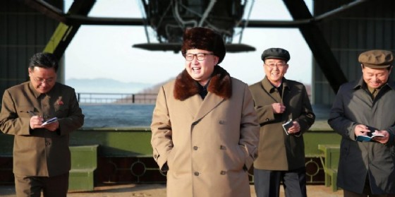 Il dittatore nordcoreano Kim Jong-Un. (© EPA / KCNA)