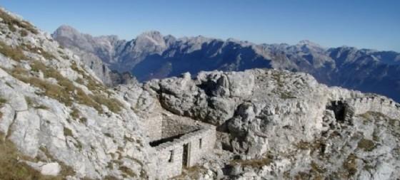 Testimonianze della Grande Guerra in Alto Friuli (© Alpi Friulane)