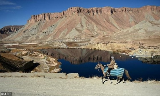Band-e-Amir, Afghanistan's first national park, is in the central province of Bamiyan, a top tourist destination for mainly Afghan visitors