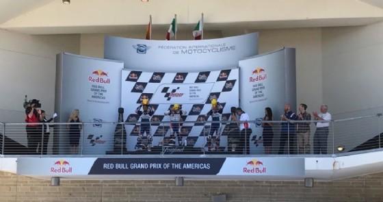 Moto3, qualifiche GP Stati Uniti: pole di un super Canet, terzo Fenati