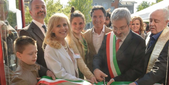 L'inaugurazione della nuova farmacia (© Diario di Udine)