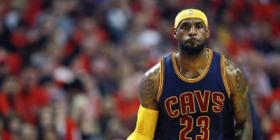 LeBron James, stella dei Cleveland Cavaliers (© ANSA)