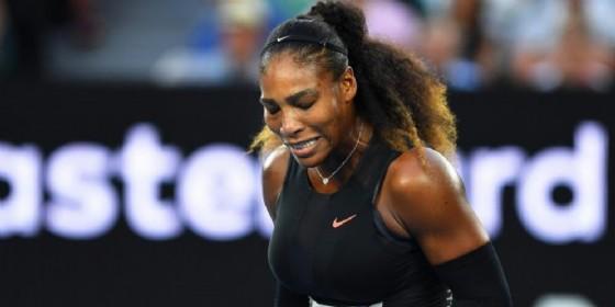 Serena Williams (incinta) torna al primo posto nel ranking WTA (© ANSA)