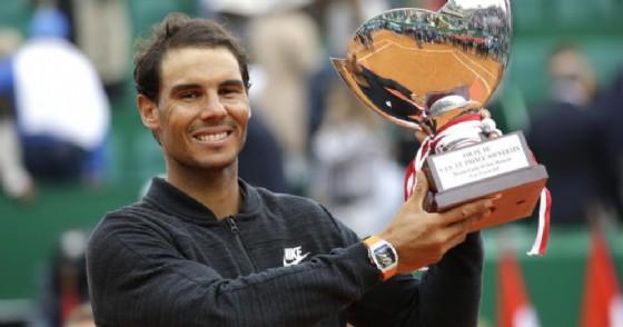 Tennis: Nadal da record, vince Montecarlo per la 10/a volta (© ANSA | AP)