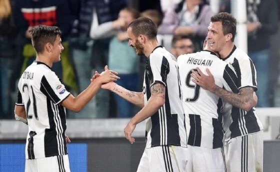 La Juventus bette agevolmente il Genoa allo Stadium per 4-0 (© ANSA)