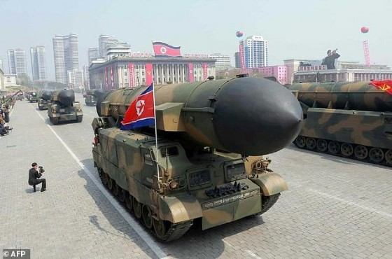 North Korea has long been seeking to develop a long-range missile capable of hitting the US mainland with a nuclear warhead