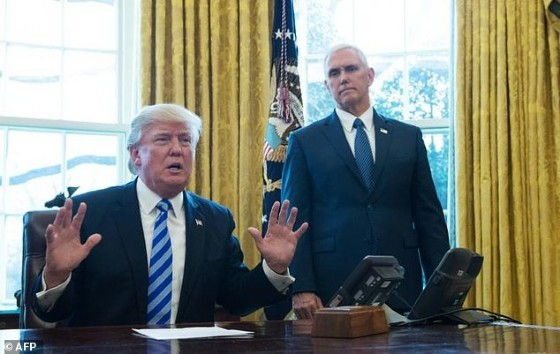 Pence and his staff have worked hard not to eclipse Trump or show any hint of difference with him, with one senior aide saying «the vice president's role, other than being the president of the Senate, is 100 percent defined by the president»