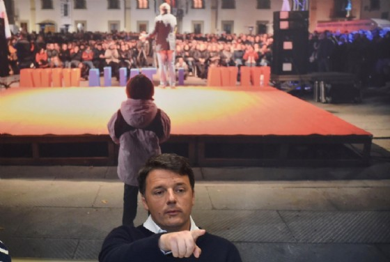 L'ex premier, Matteo Renzi