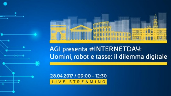 Internet day. Uomini, robot e tasse: il dilemma digitale DIRETTA