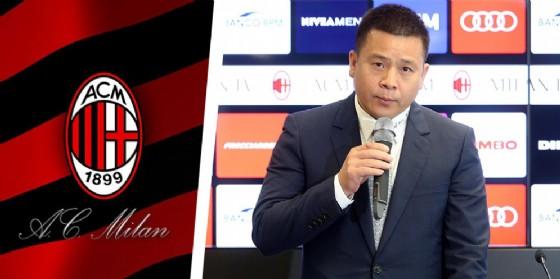 Il nuovo presidente del Milan Li Yonghong (© Ansa)