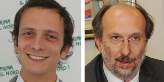 Fedriga e Riccardi in corsa per essere i candidati del centrodestra in Fvg (© Diario di Udine)