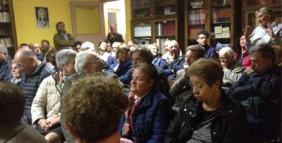 Il pubblico presente all'incontro dell'altro giorno (© Comune di Biella)