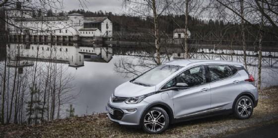 La Opel Ampera-e
