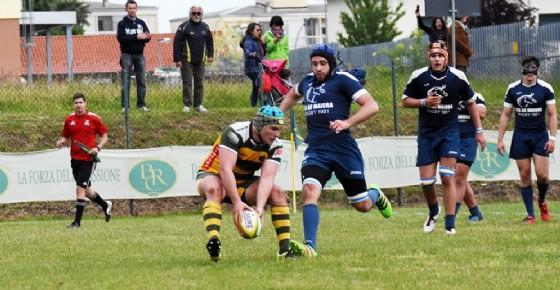 Un momento della gara (foto Socco) (© Biella Rugby)