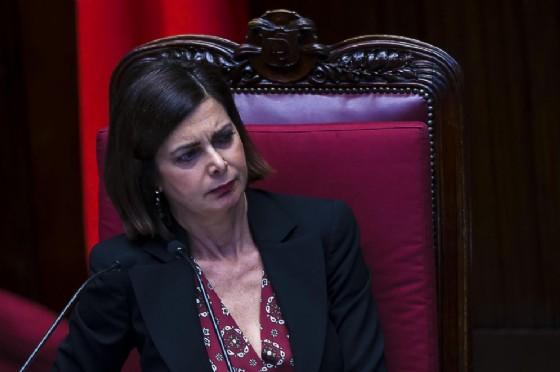 Il presidente della Camera, Laura Boldrini (© ANSA/ANGELO CARCONI)