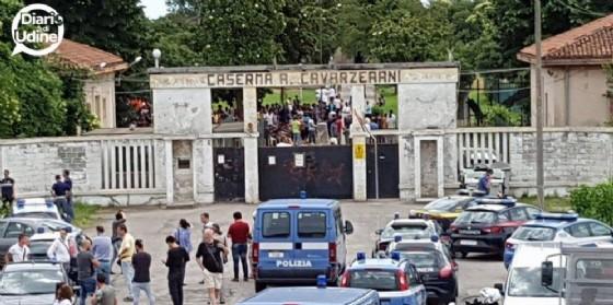 Intervento di Forza Italia sul caso delle violenze ad opera di un migrante (© Diario di Udine)