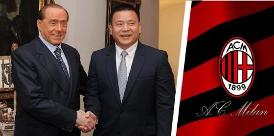 Li Yonghong con Silvio Berlusconi