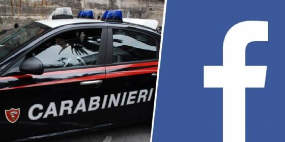 Carabinieri e facebook (© Diario di Biella)