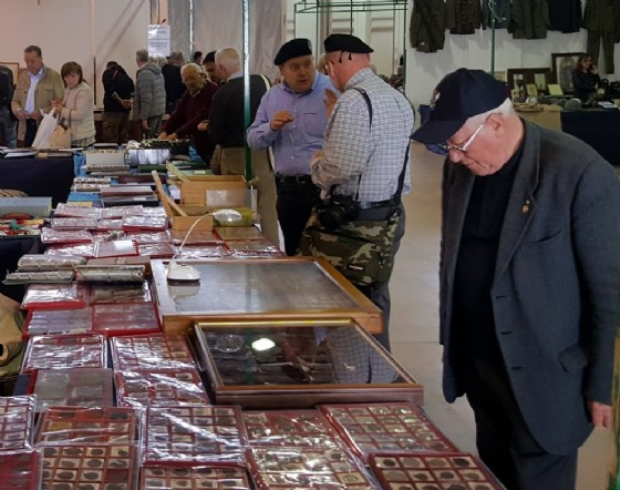 Ritorna alla Fiera di Pordenone Nordest Colleziona- Uniformexpo grande rassegna di collezionismo vario e militaria (© Pordenone Fiere)