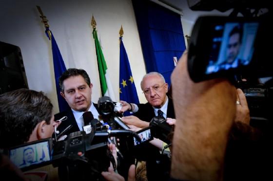 Giovanni Toti, presidente della regione Liguria e consigliere politico di Silvio Berlusconi (© ANSA /CIRO FUSCO)