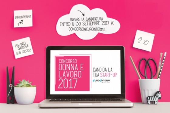 Concorso Nazionale Donna e Lavoro Startup, come partecipare