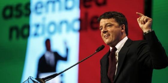 Il segretario Pd Matteo Renzi. (© ANSA/RICCARDO ANTIMIANI)