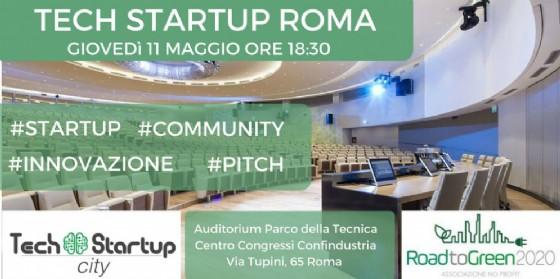 Tech Startup Roma, startup si presentano ai venture capital (© Tech Startup City)