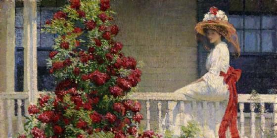 'Ilgiardino degli artisti. L'impressionismo americano' al Centrale (© Visionario)