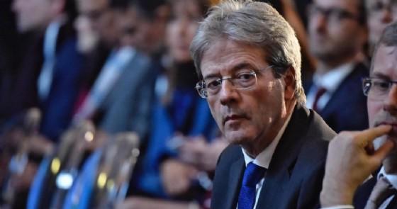 Il premier Paolo Gentiloni