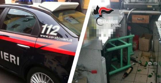 Pensionato respinto distrugge il bar dove lavora la donna (© Carabinieri)