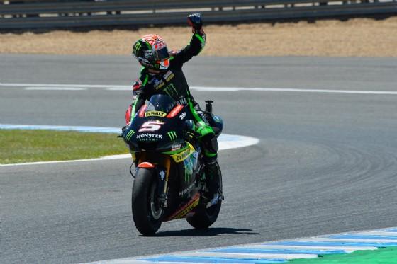 Il pilota francese festeggia il quarto posto a Jerez