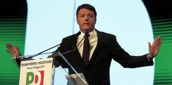 Il segretario Pd Matteo Renzi (© ANSA/RICCARDO ANTIMIANI)