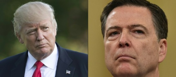 US President Donald Trump's professed rationale for firing FBI director James Comey quickly unravelled when he admitted he always intended to fire him