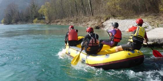 Nel 2017 ritorna il rafting in Friuli Venezia Giulia e si estende a percorsi fluviali inediti (© Visitait.it)