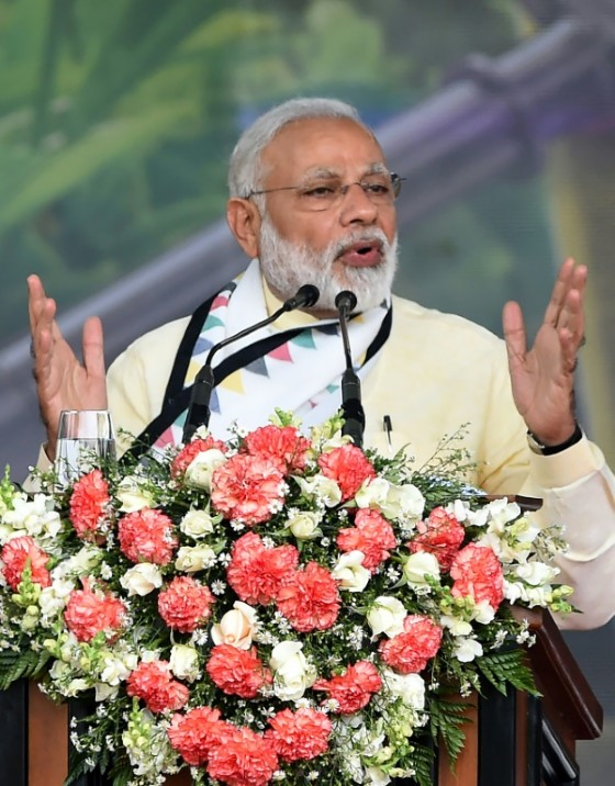 India, whose Prime Minister narendra Modi is seen May 12, 2017, has voiced displeasure at the China-Pakistan Economic Corridor, a Belt and Road project aimed at linking northwestern China to the Arabian Sea