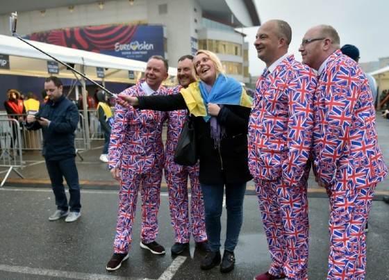 Fans from all around Europe arrive to attend the final of the Eurovision Song Contest