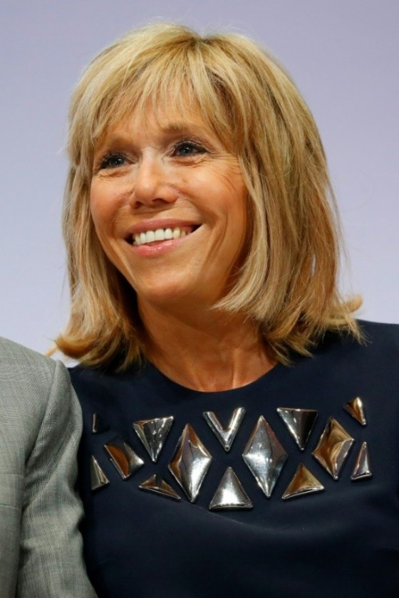 Brigitte Macron, the wife and former teacher of president-elect Emmanuel Macron, may take on an official role