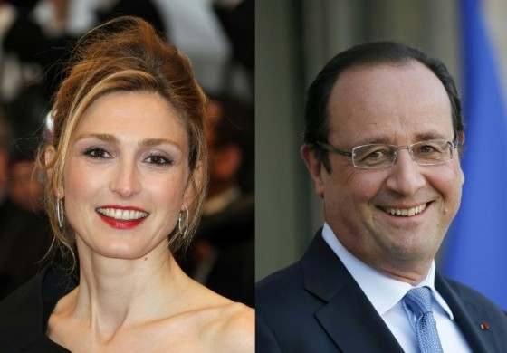 French President Francois Hollande split with his long-term partner after it emerged he was having an affair with actress Julie Gayet